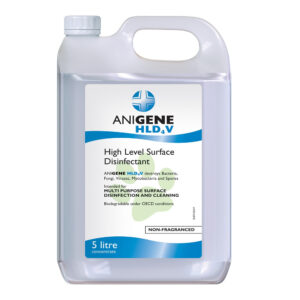 Anigene High Level Surface Disinfectant 5L Unfragranced