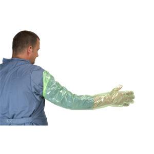 Kruuse Arm Length Soft Green Gloves