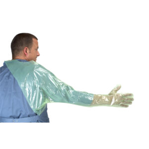 Kruuse Over Shoulder with Protector Soft Green Gloves