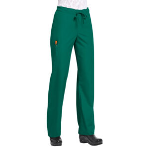 Orange Balboa Scrub Trousers – Hunter Green (Unisex)