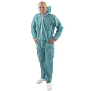 Disposable Green Isolation Suits