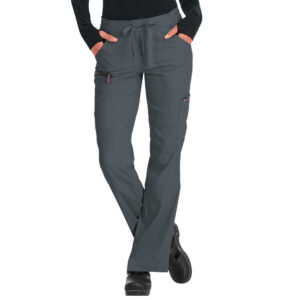 Koi Lite Scrub Trousers Peace – Charcoal (Female)