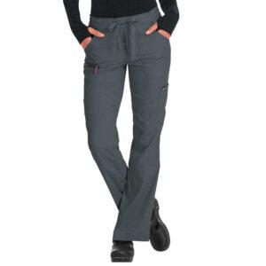 Koi Lite Scrub Trousers Peace – Charcoal (Female)