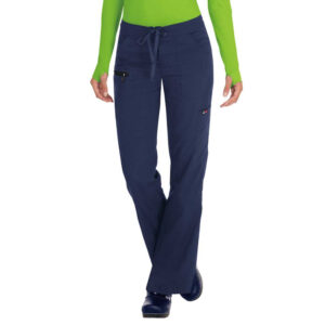 Koi Lite Scrub Trousers Peace – Navy (Female)