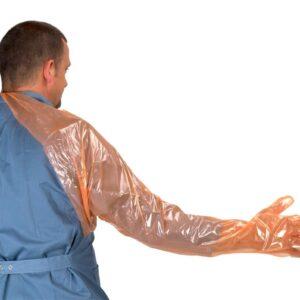 Kruuse Over Shoulder with Protector Super Sensitive Orange Gloves