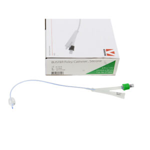 Kruuse Silicone Foley Catheter 5pk