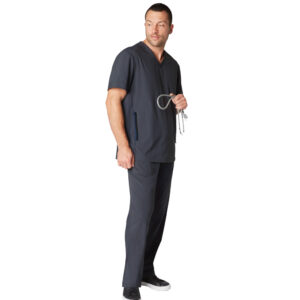 Koi Lite Scrub Top Force – Charcoal (Male)