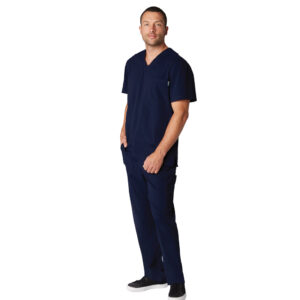 Koi Lite Scrub Top Force – Navy (Male)