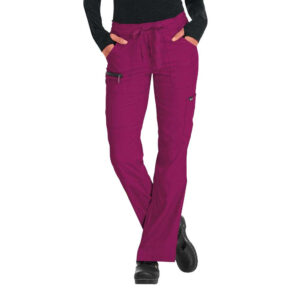 Koi Lite Scrub Trousers Peace – Raspberry (Female)