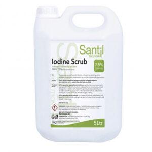 Santil Povidine Iodine Scrub