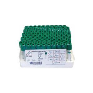 Blood Bottles – Lithium Heparin (Green top)