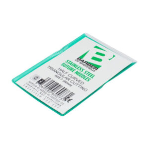 Suture Needles Curved Reverse Cutting 12pk